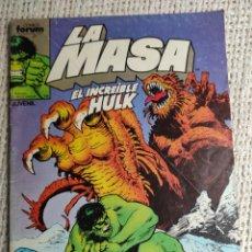 Cómics: LA MASA Nº 40 - EDITA : FORUM AÑOS 80 - 1ª EDICIÓN FORUM. Lote 270649853