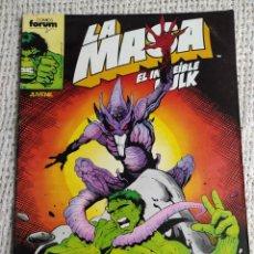Cómics: LA MASA Nº 49 - EDITA : FORUM AÑOS 80 - 1ª EDICIÓN FORUM. Lote 270650053