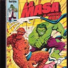Cómics: LA MASA , TOMO RECOPILATORIO CON LOS Nº 26, 27,28. 29, 30 - EDITA : FORUM AÑOS 80. Lote 270650573