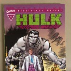 Cómics: HULK N 1,MARVEL COMIC EXCELSIOR BIBLIOTECA MARVEL, FORUM,ENCUADERNACIÓN EN RÚSTICA.. Lote 270681228