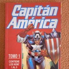 Cómics: CAPITAN AMERICA HEROES RETURN TOMO 1 VOL4 NUMEROS 1 AL 5. Lote 270882613