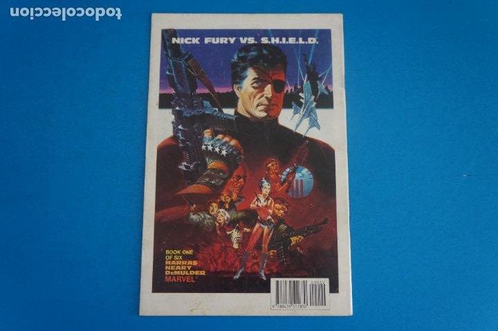 Cómics: COMIC DE NICK FURIA CONTRA SHIELD AÑO 1989 Nº 2 DE COMICS FORUM LOTE 23 D - Foto 2 - 270913363