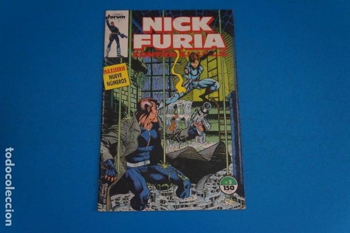 COMIC DE NICK FURIA CONTRA SHIELD AÑO 1989 Nº 2 DE COMICS FORUM LOTE 23 D (Tebeos y Comics - Forum - Furia)