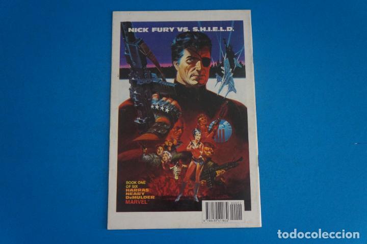 Cómics: COMIC DE NICK FURIA CONTRA SHIELD AÑO 1989 Nº 2 DE COMICS FORUM LOTE 23 E - Foto 2 - 270918253