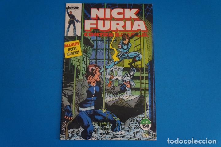 COMIC DE NICK FURIA CONTRA SHIELD AÑO 1989 Nº 2 DE COMICS FORUM LOTE 23 E (Tebeos y Comics - Forum - Furia)