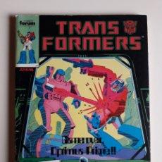 Comics: TRANSFORMERS TOMO RETAPADO. NÚMEROS 16,17,18,19 Y 20. ED FÓRUM. Lote 270962328