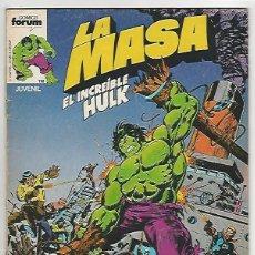 Cómics: PLANETA. FORUM. LA MASA VOLUMEN 1. 3. Lote 293436858