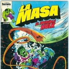 Cómics: PLANETA. FORUM. LA MASA VOLUMEN 1. 18.. Lote 271226118