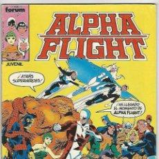 Comics: PLANETA. FORUM. ALPHA FLIGHT. 1. Lote 271228588