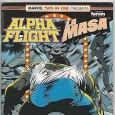 Comics: PLANETA. FORUM. ALPHA FLIGHT. 54.. Lote 272725913