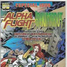 Comics: PLANETA. FORUM. ALPHA FLIGHT. INHUMANOS. ESPECIAL 1999.. Lote 271229763