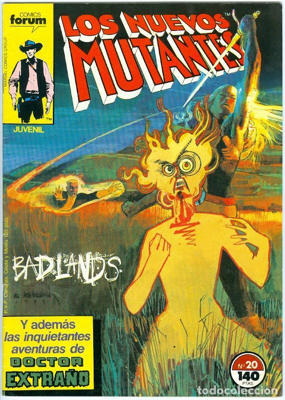 PLANETA. FORUM. LOS NUEVOS MUTANTES. 20. (Tebeos y Comics - Forum - Nuevos Mutantes)