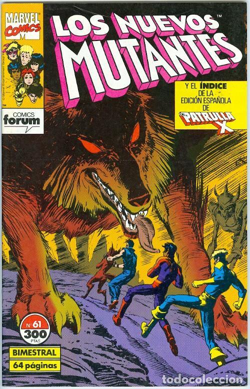 PLANETA. FORUM. LOS NUEVOS MUTANTES. 61. (Tebeos y Comics - Forum - Nuevos Mutantes)