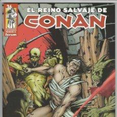 Fumetti: PLANETA. EL REINO SALVAJE DE CONAN. 36. Lote 271239918
