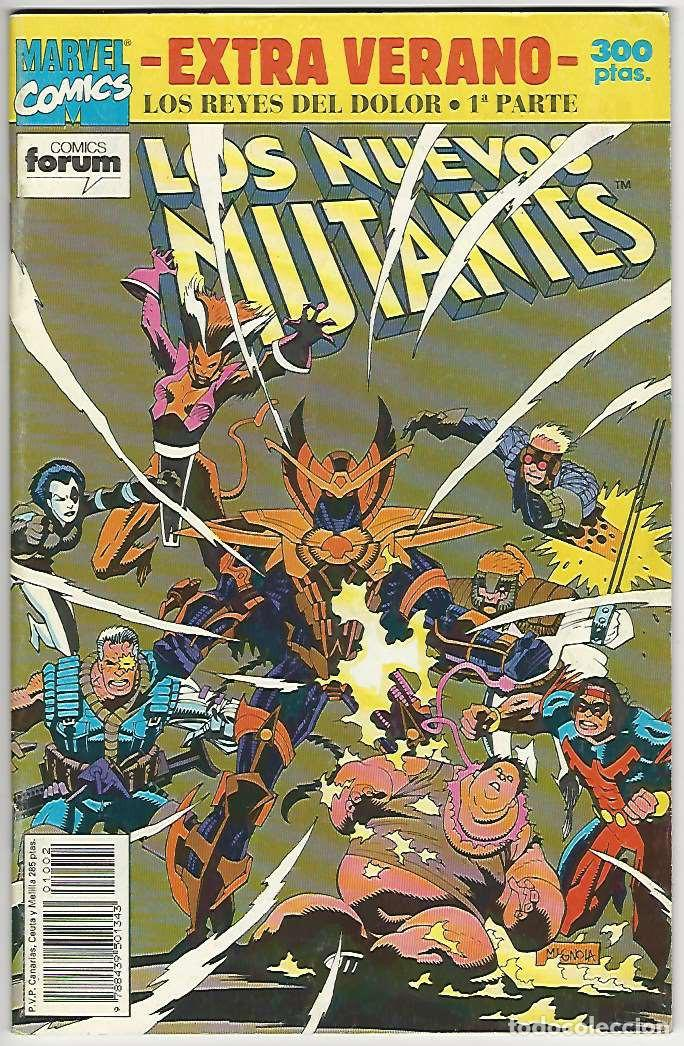 PLANETA. FORUM. LOS NUEVOS MUTANTES. 1992 EXTRA VERANO. (Tebeos y Comics - Forum - Nuevos Mutantes)