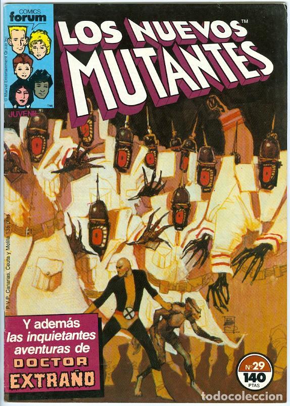 PLANETA. FORUM. LOS NUEVOS MUTANTES. 29. (Tebeos y Comics - Forum - Nuevos Mutantes)