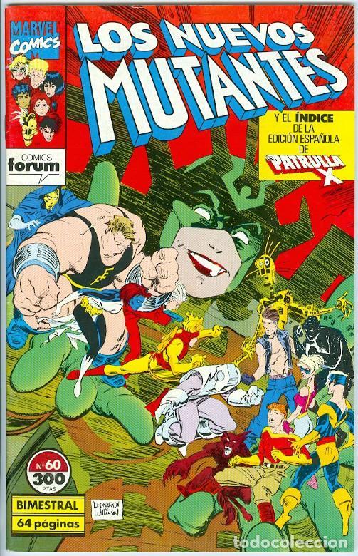 PLANETA. FORUM. LOS NUEVOS MUTANTES. 60. (Tebeos y Comics - Forum - Nuevos Mutantes)