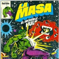 Cómics: PLANETA. FORUM. LA MASA VOLUMEN 1. 11.. Lote 271249163