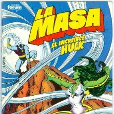 Cómics: PLANETA. FORUM. LA MASA VOLUMEN 1. 41.. Lote 271249303