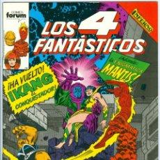 Cómics: PLANETA. FORUM. LOS 4 FANT�STICOS. 91. Lote 271263598