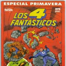 Cómics: PLANETA. FORUM. LOS 4 FANT�STICOS. ESPECIAL PRIMAVERA. 1990.. Lote 271263648
