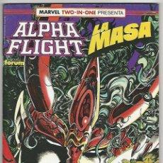 Comics: PLANETA. FORUM. ALPHA FLIGHT. 58.. Lote 272570208