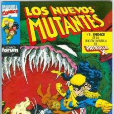 Cómics: PLANETA. FORUM. LOS NUEVOS MUTANTES. 58.. Lote 271267558