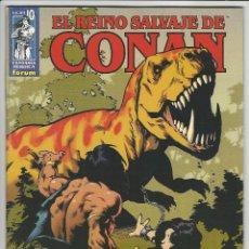 Fumetti: PLANETA. EL REINO SALVAJE DE CONAN. 10. Lote 271275638