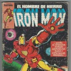 Comics: PLANETA. IRON MAN VOL 1. 1 - 5. RETAPADOS.. Lote 271325253