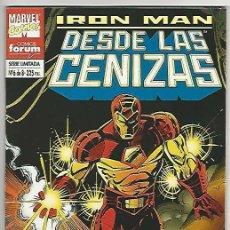 Cómics: PLANETA. FORUM. IRON MAN. DESDE LAS CENIZAS. 6. Lote 271335793