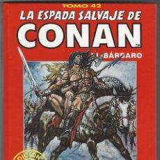 Cómics: FORUM. LA ESPADA SALVAJE DE CONAN. 42. EDICI�N COLECCIONISTAS.. Lote 271349673