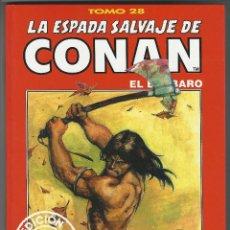 Cómics: FORUM. LA ESPADA SALVAJE DE CONAN. 28. EDICI�N COLECCIONISTAS.. Lote 271350093
