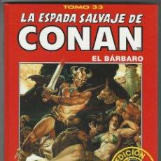 Cómics: FORUM. LA ESPADA SALVAJE DE CONAN. 33. EDICI�N COLECCIONISTAS.. Lote 271350103
