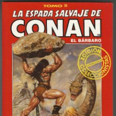 Cómics: FORUM. LA ESPADA SALVAJE DE CONAN. 5. EDICI�N COLECCIONISTAS.. Lote 271350728