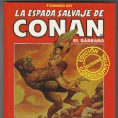 Cómics: FORUM. LA ESPADA SALVAJE DE CONAN. 10. EDICI�N COLECCIONISTAS.. Lote 271350733