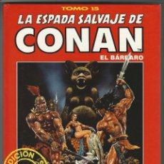 Cómics: FORUM. LA ESPADA SALVAJE DE CONAN. 15. EDICI�N COLECCIONISTAS.. Lote 271350738