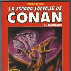 Cómics: FORUM. LA ESPADA SALVAJE DE CONAN. 20. EDICI�N COLECCIONISTAS.. Lote 271350743
