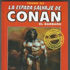 Cómics: FORUM. LA ESPADA SALVAJE DE CONAN. 25. EDICI�N COLECCIONISTAS.. Lote 271350748