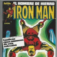 Cómics: PLANETA. IRON MAN VOL 1. 31 - 35. RETAPADOS.. Lote 271351248