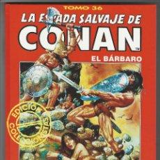 Cómics: FORUM. LA ESPADA SALVAJE DE CONAN. 36. EDICI�N COLECCIONISTAS.. Lote 271355003