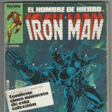 Cómics: PLANETA. IRON MAN VOL 1. 6 - 10. RETAPADOS.. Lote 271343133