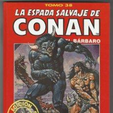 Cómics: FORUM. LA ESPADA SALVAJE DE CONAN. 38. EDICI�N COLECCIONISTAS.. Lote 271350123