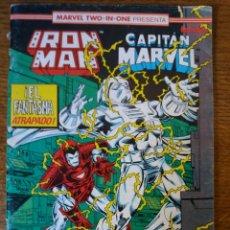 Cómics: IRON MAN CAPITAN MARVEL. Lote 271625033