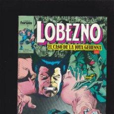 Cómics: LOBEZNO - VOL 1 - Nº 11 - EL CASO DE LA JOYA GEHENNA. CAP.1 - FORUM -. Lote 271700138