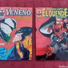 Cómics: VENENO DIENTES Y GARRAS- SPIDERMAN EL DUENDE VIVE- MARVEL COMICS- SPIDER-MAN FORUM. Lote 271896853
