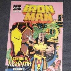 Comics: IRON MAN CONTRA EL MANDARIN VOLUMEN 2 MARVEL COMICS FORUM IRONMAN. Lote 271934863