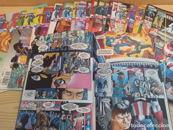 CAPITAN AMERICA HEROES RETURN - COLECCIÓN COMPLETA 27 NUMEROS - EDICIONES FORUM (Tebeos y Comics - Forum - Capitán América)