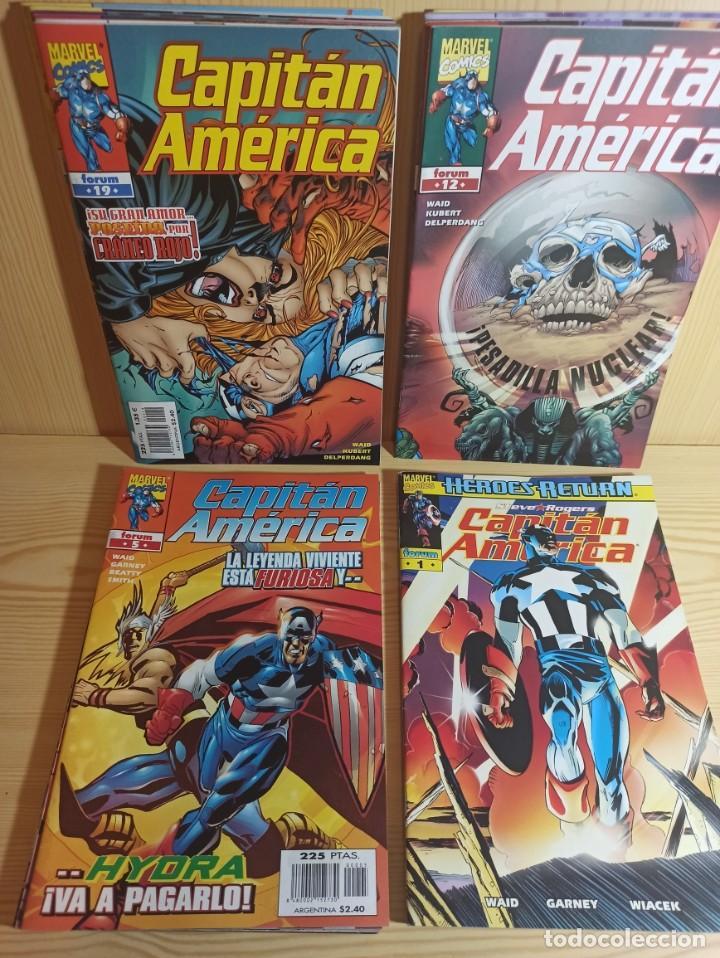 Cómics: CAPITAN AMERICA HEROES RETURN - COLECCIÓN COMPLETA 27 NUMEROS - EDICIONES FORUM - Foto 2 - 271987878