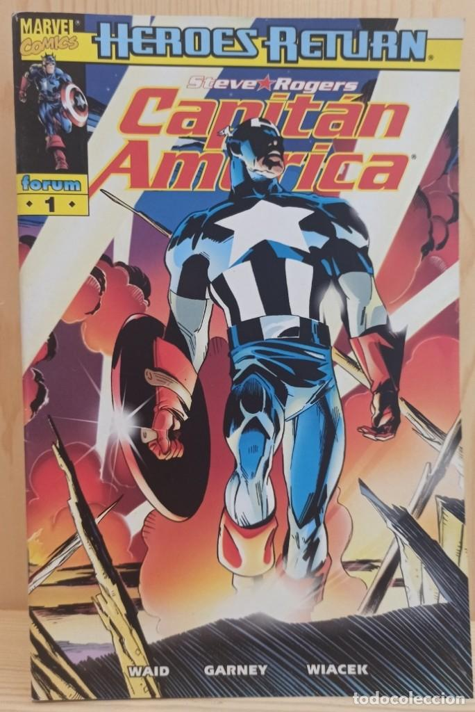 Cómics: CAPITAN AMERICA HEROES RETURN - COLECCIÓN COMPLETA 27 NUMEROS - EDICIONES FORUM - Foto 3 - 271987878