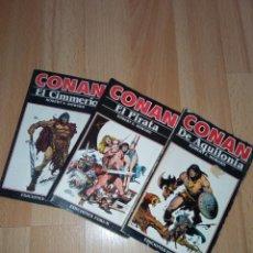 Cómics: LOTE NOVELAS CONAN EDITORIAL FÓRUM. Lote 272078343